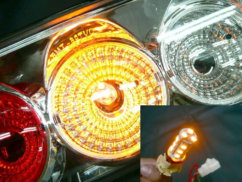 LED ウィンカー ランプ+抵抗器販売中!!