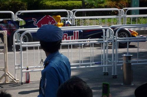 REDBULL in 大阪城