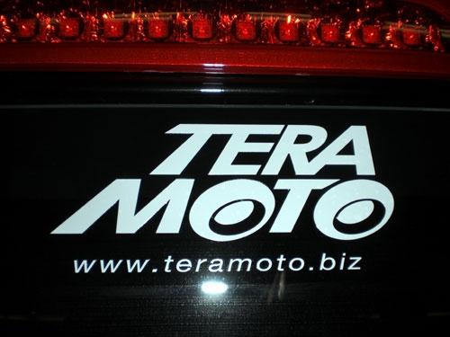 TERAMOTOステッカー出来ました!!