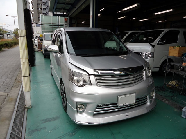 トヨタ ノアにT-REVαシステム
