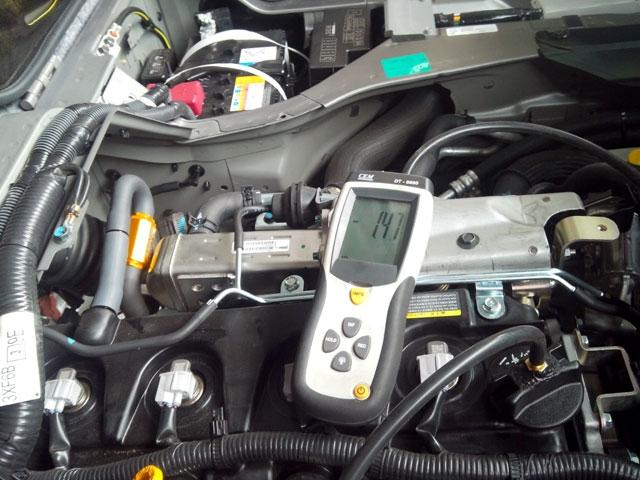 NV350キャラバン ディーゼルにT-REV取付け